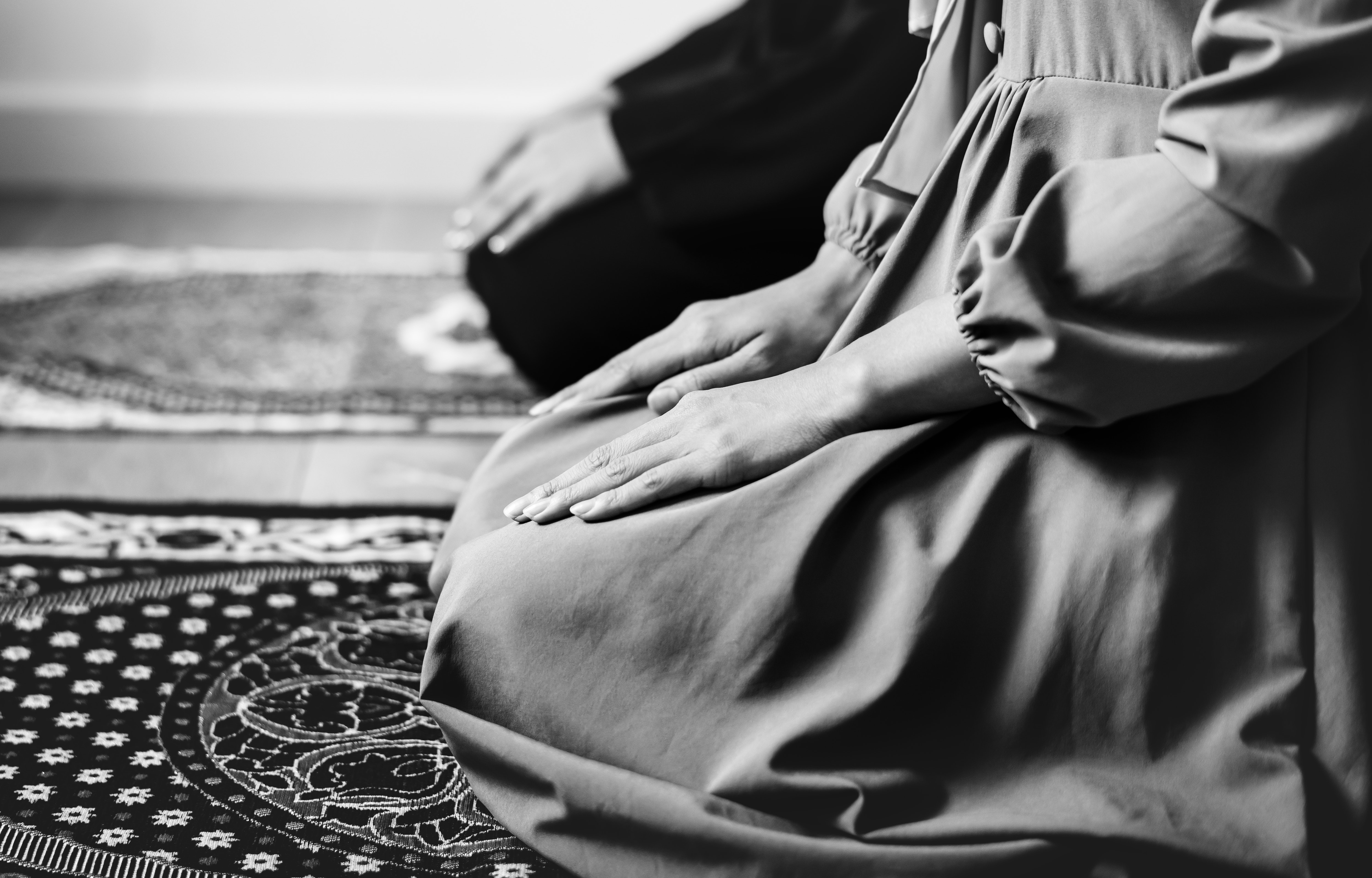 Arabic, Praying