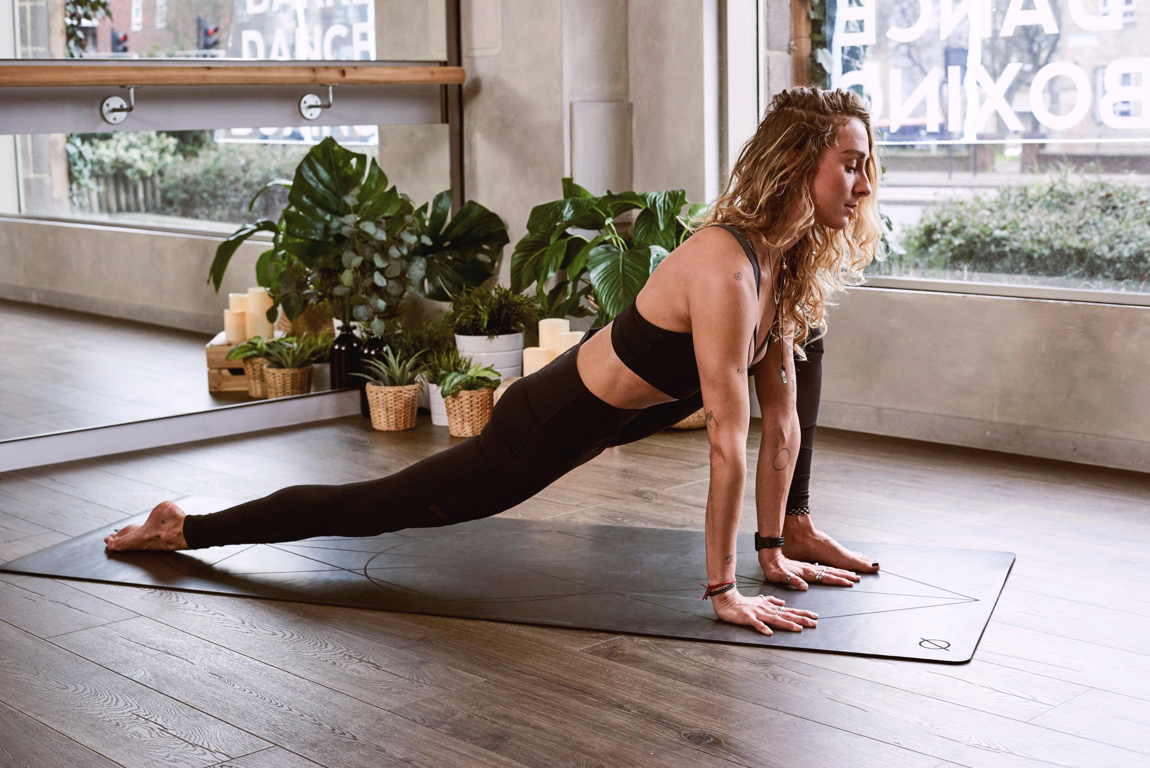 Yoga pose: Forward Lunge